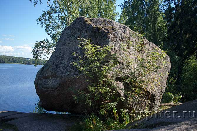Монрепо камень на скале