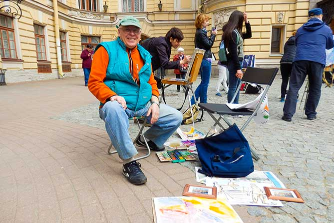 Алексаей Дадашев художник рисует