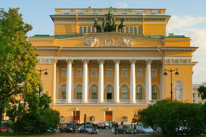 центральный вход Александринский театр