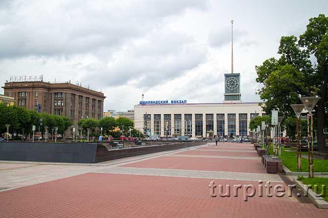 здание Финляндского вокзала