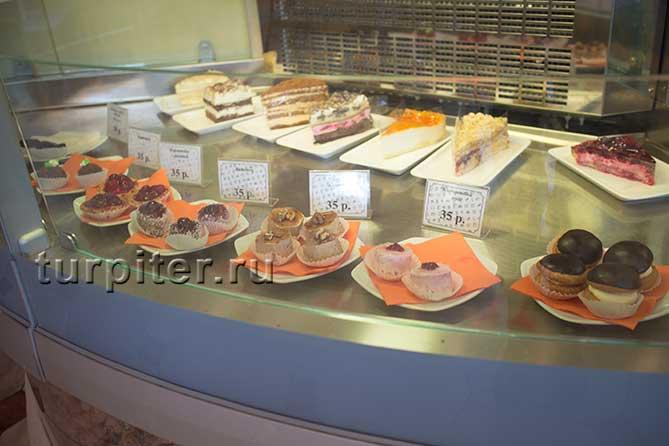 пироженые Щелкунчик ресторан Санкт-Петербург