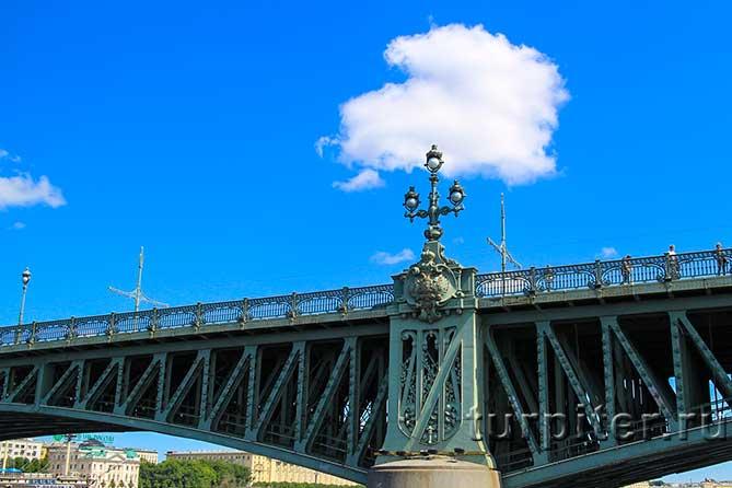 арка Троицкого моста