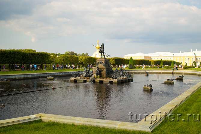 Верхний сад в Петергофе