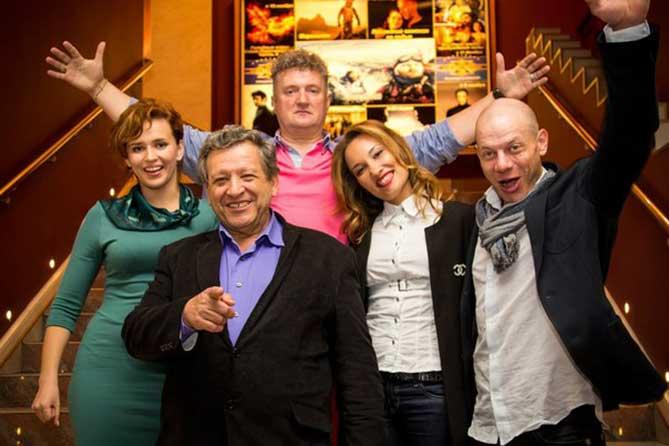 на премьере фильма в Санкт-Петербурге