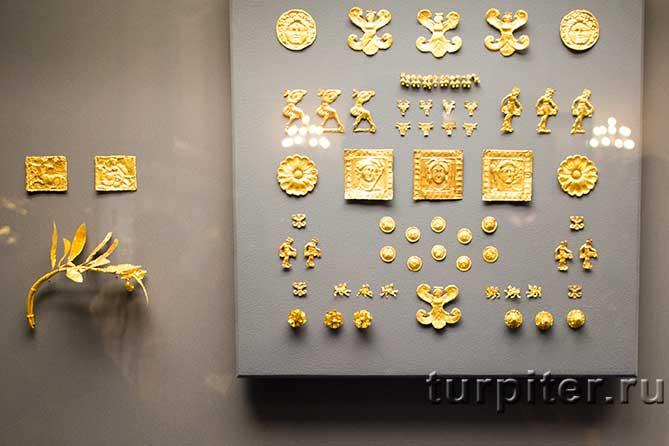 мелькие золотые изделия