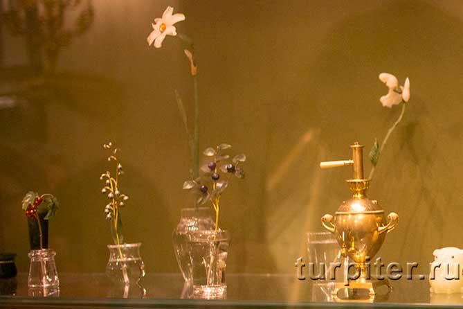 цветы в Бриллиантовой комнате