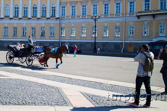 карета на Дворцовой Площади