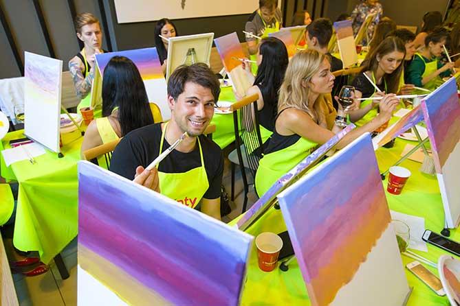 painty санкт-петербург молодой человек