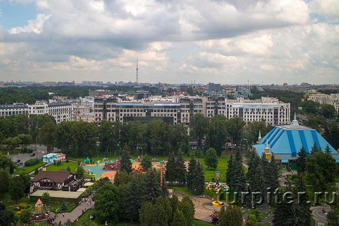 видно Санкт-Петербург