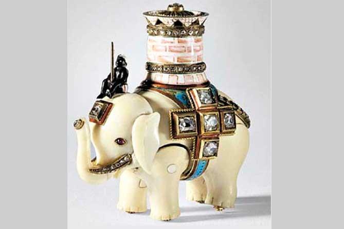 заводной слоник