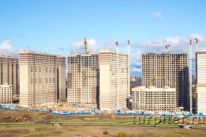 высотная застройка многоэтажки
