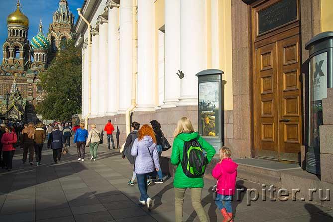 Михайловский замок Бенуа Воскресенский собор