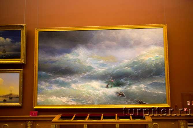 картина Айвазовского Волна