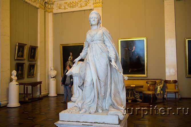 скульптура Екатерина II законодательница