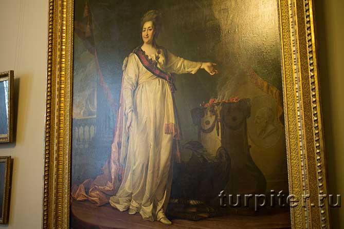 Екатерина II Законодательница на картине