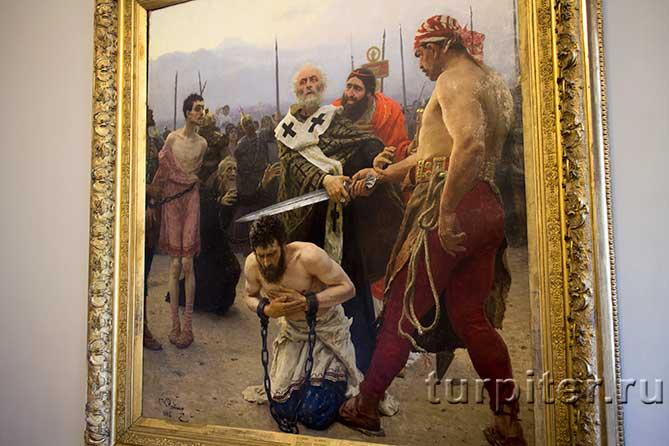 первая картина Русского музея