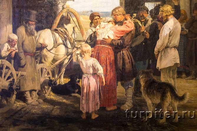 провожают в селе в солдаты