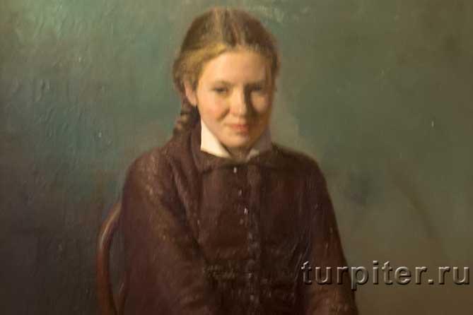 портрет студентки