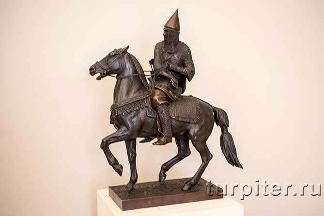 скульптура русского война