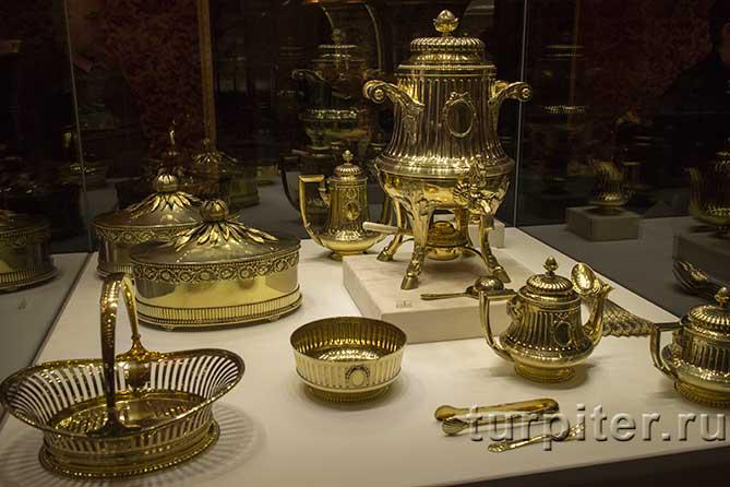 кофейные принадлежности музей Фаберже