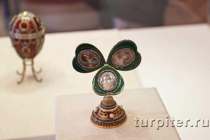 музей Фаберже трехлистник