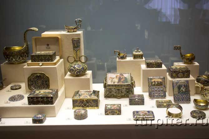 музей Фаберже мелкие изделия
