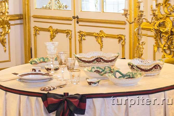 серверован стол царскео село