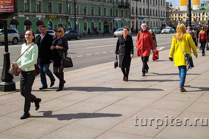 гости города гуляют