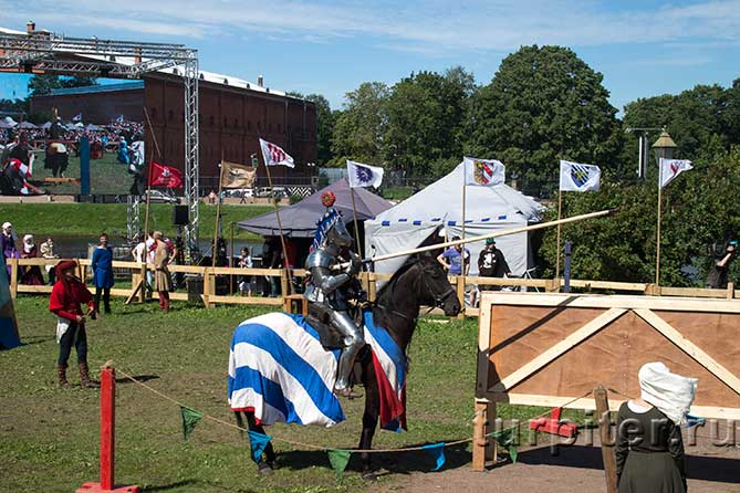 Рыцарский турнир Битва на Неве