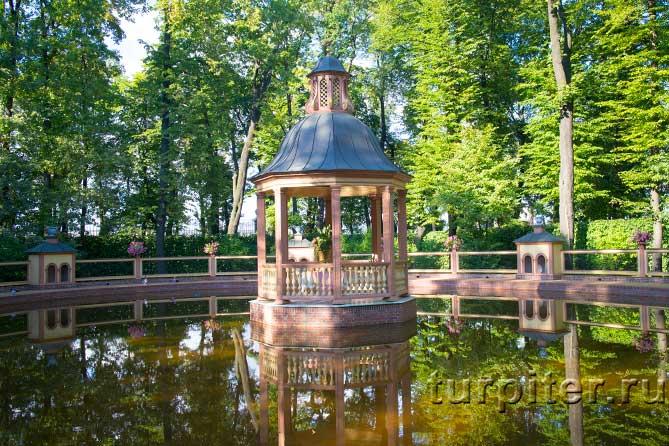 место Петра Первого в парке
