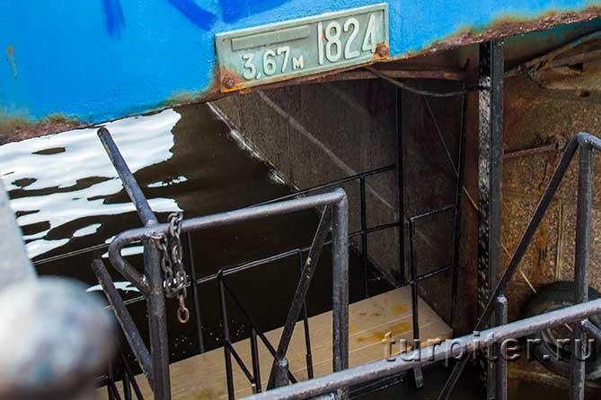 уровень 1824 года наводнение