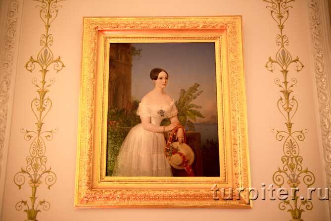 Ольга Николаевна на портрете