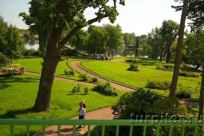 Ольгин павильон сад и пруд