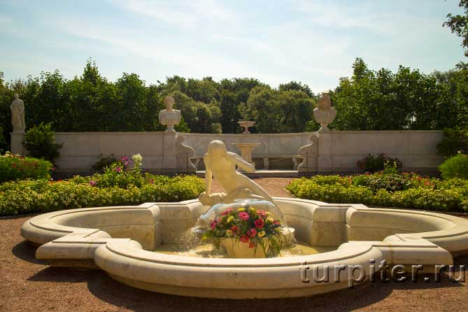 Царицын павильон фонтан Нарцисс