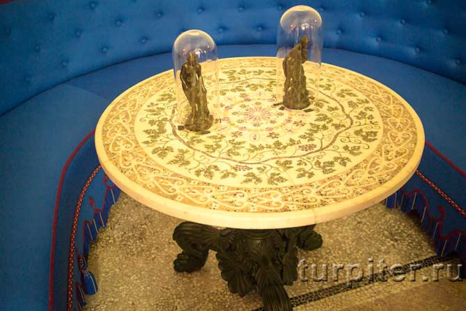 Царицын павильон столик и фигуры