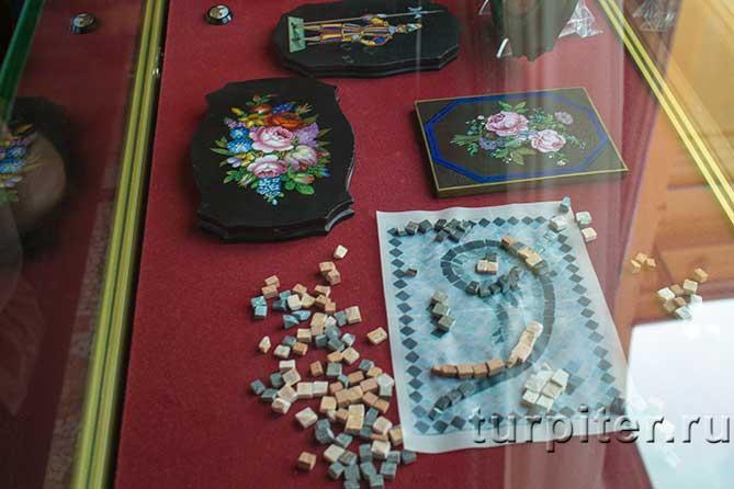 Царицын павильон мозаика