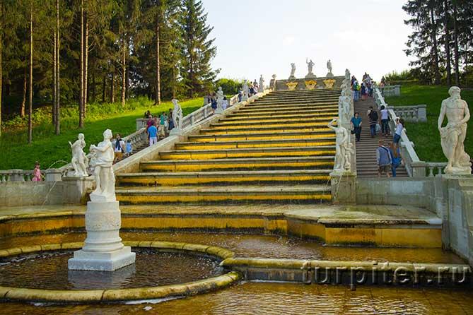 Петергоф Золотая гора
