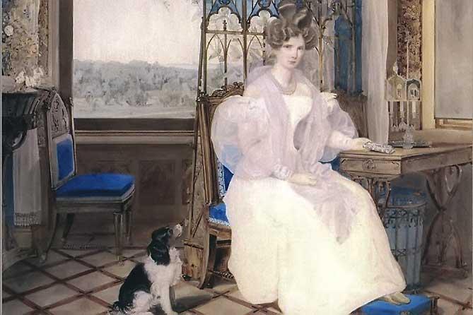 Дворец Коттедж: иператрица в кабинете