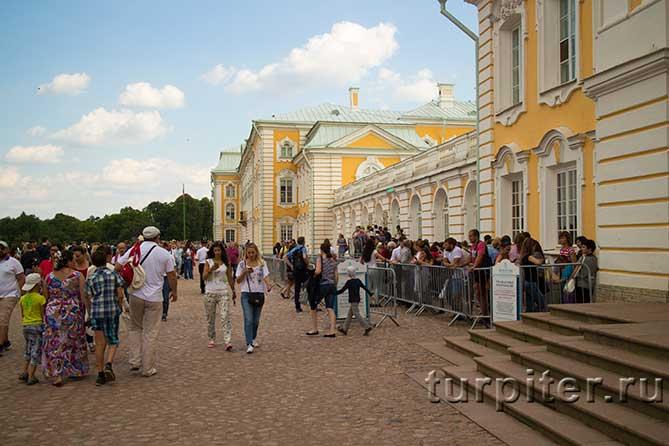 большой петергофский дворец очередь