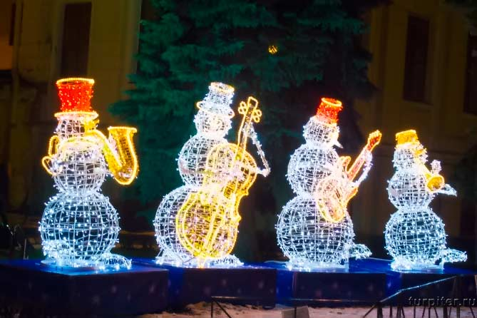 четыре световых сеговика