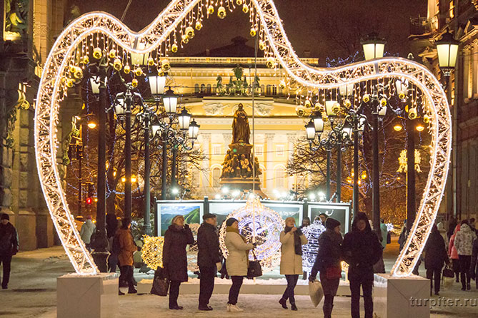 Санкт-Петербург Новый год праздник