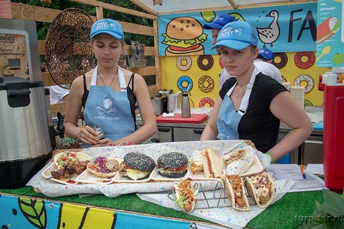 необычные бургеры санкт петербург