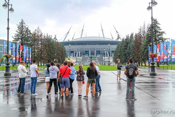 стадион зенит на крестовском острове
